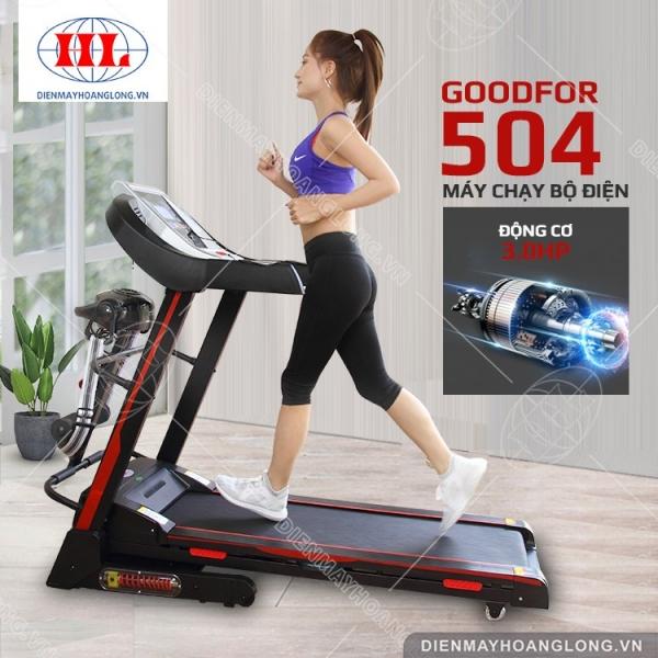 Máy chạy bộ điện GoodFor 504
