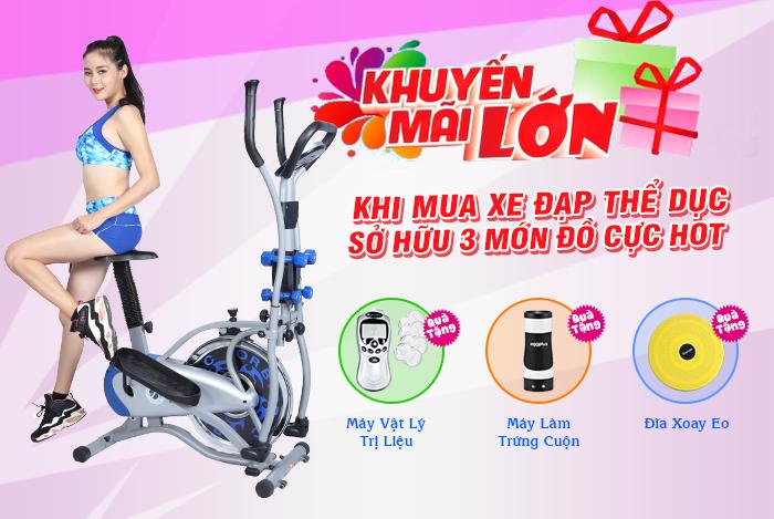Bạn đã sử dụng xe đạp tập thể dục tại nhà đúng cách???