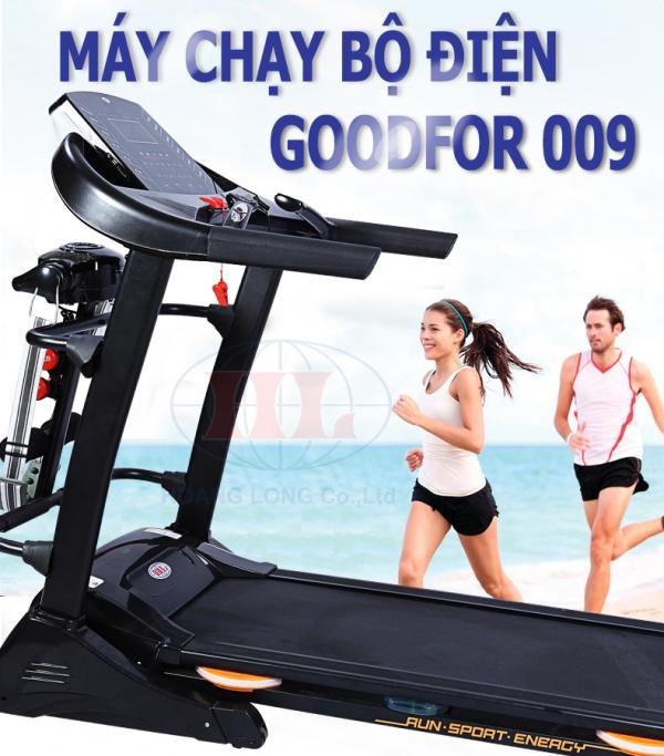 Vài điểm thích thú của máy chạy bộ điện Goodfor 009