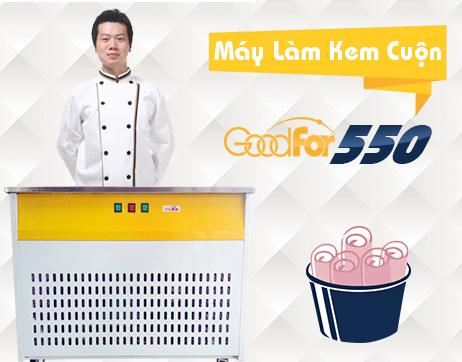 Mở quán kem cuộn Thái lan cần bao nhiêu tiền
