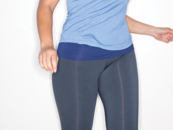 Động tác thể dục giảm mỡ béo ở cặp đùi