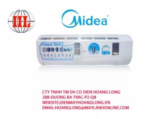 Máy lạnh Midea MSH-12CR (ion)