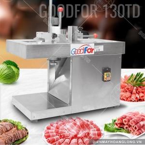 Máy thái thịt đông tự động Goodfor 130TD