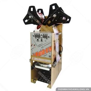 Máy dán miệng ly nhựa tự động WY-890