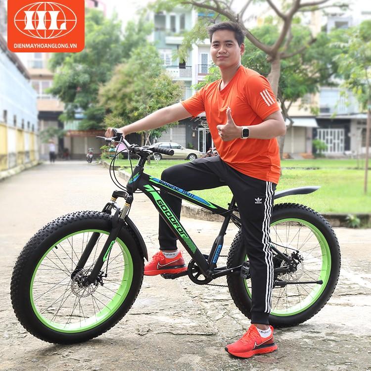 Xe đạp bánh to GoodFor HL-777 xanh