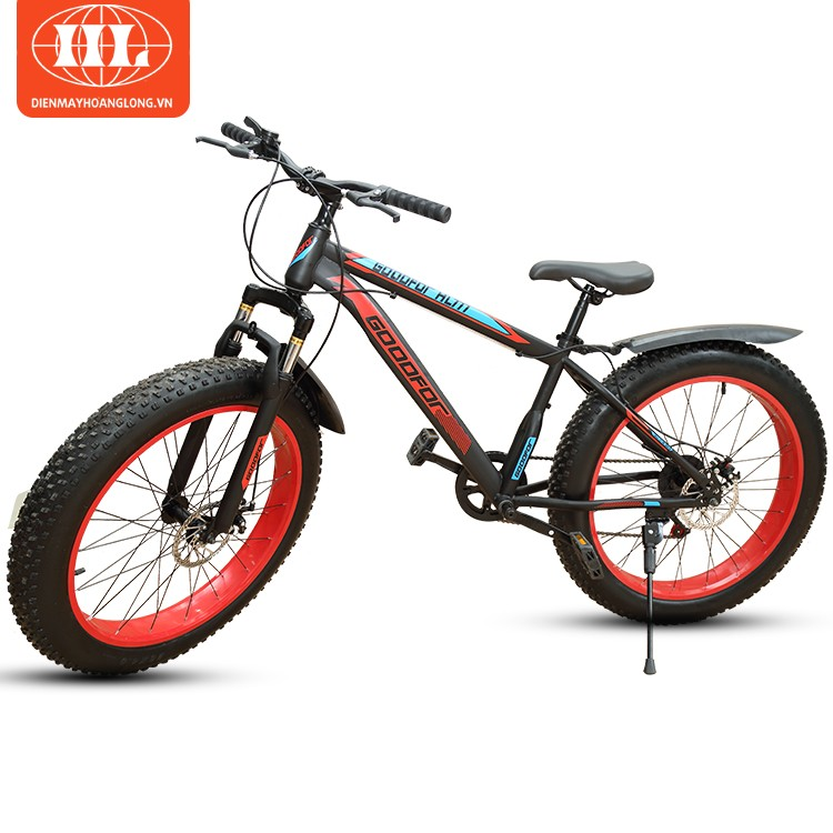 Xe đạp bánh to GoodFor HL-777 màu đỏ