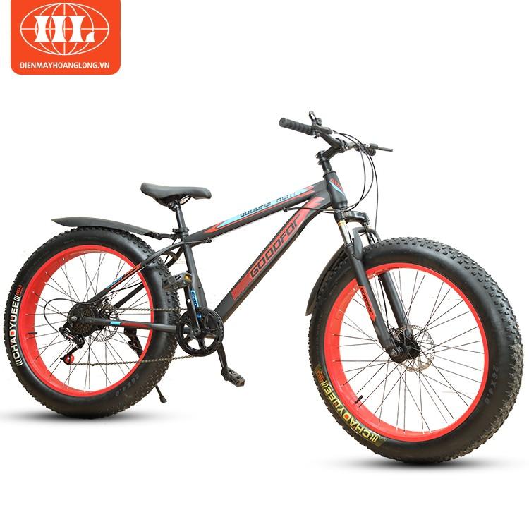 Xe đạp bánh to GoodFor HL-777 đỏ