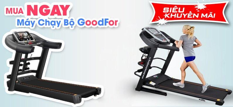 Máy chạy bộ điện thương hiệu GoodFor