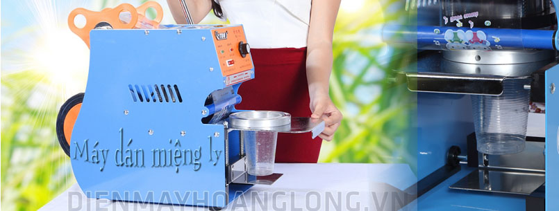 máy dán hàn miệng ly cốc
