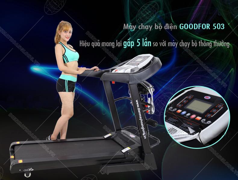 Máy chạy bộ điện Goodfor 503 - 3