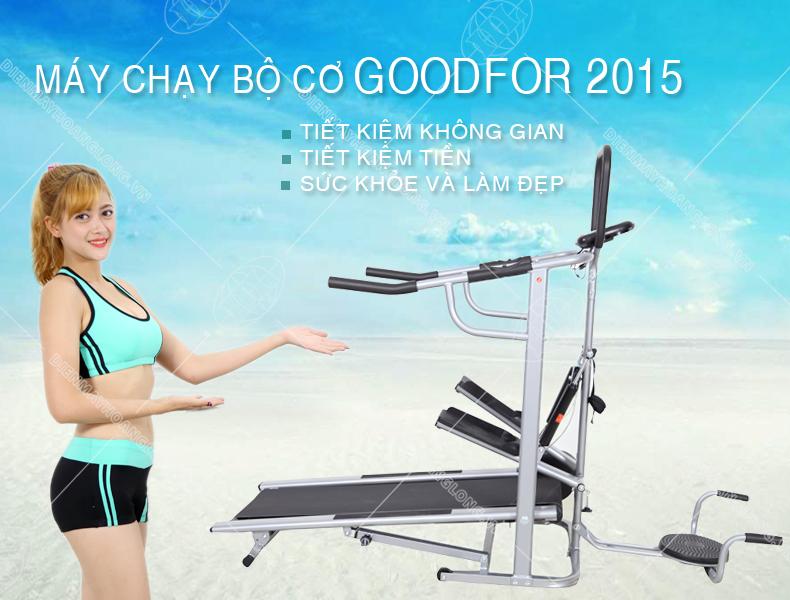 Máy chạy bộ cơ goodfor 2015