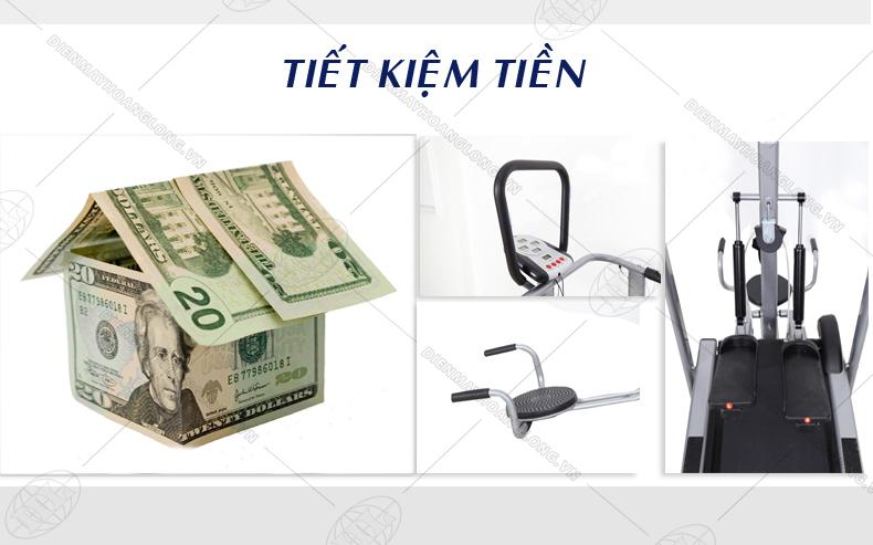 máy chạy bộ cơ goodfor 2015 tiết kiệm tiền