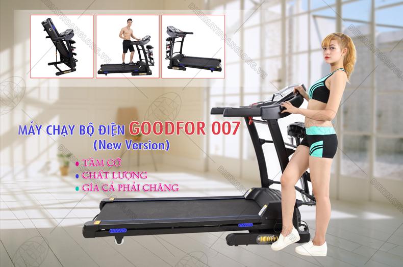 Máy chạy bộ điện Goodfor 007 New Version