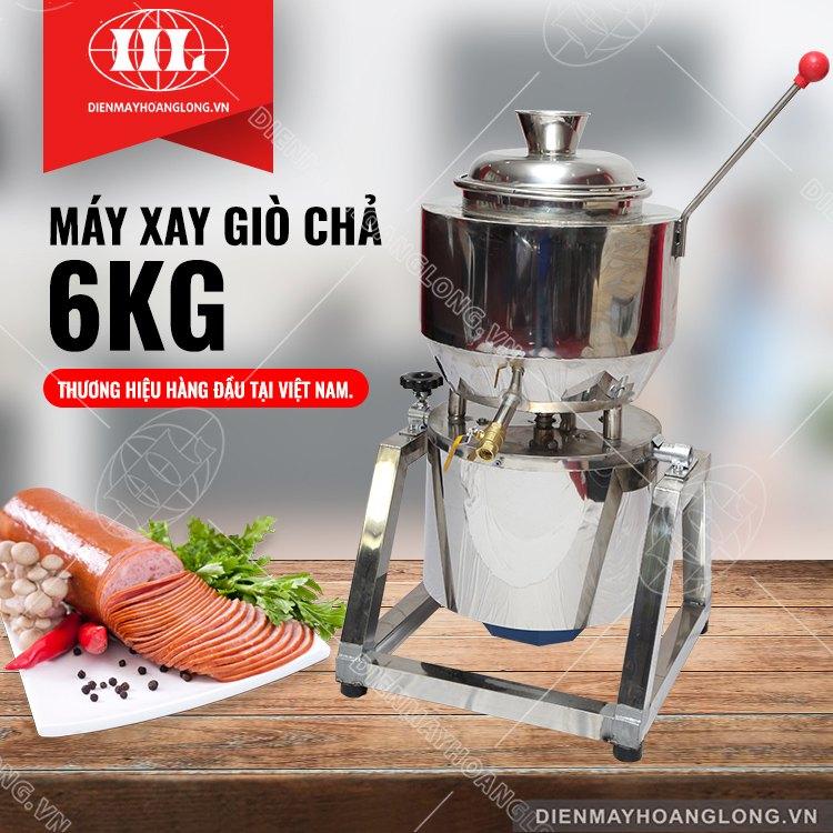 Máy Xay Giò Chả (6Kg)