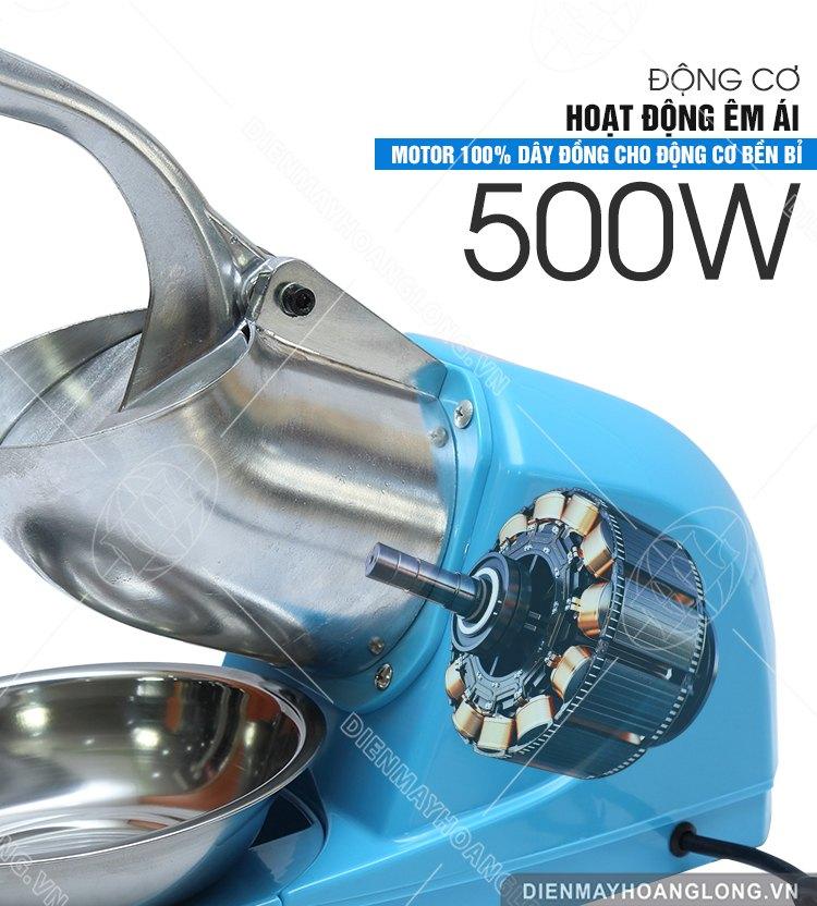 Động cơ Máy bào đá Goodfor 500x3 (3 lưỡi dao)