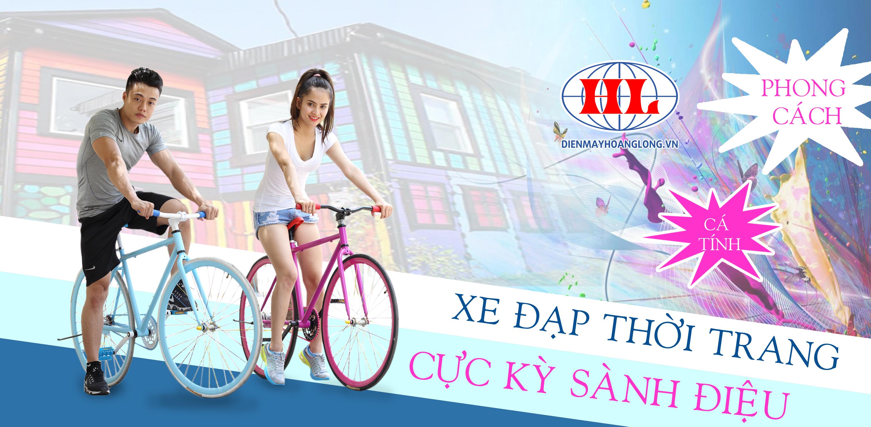 Xe đạp thời trang Ben Xanh ( Đỏ) - phù hợp thời trang