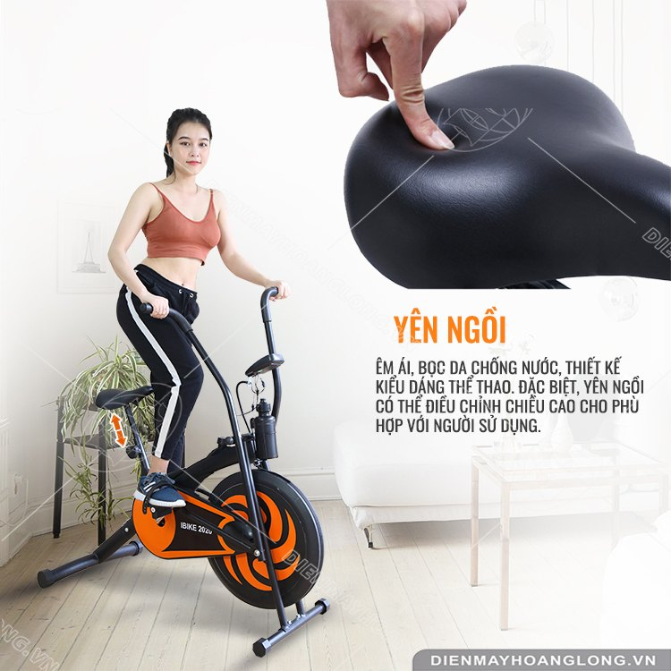 Yên ngồi Xe đạp tập thể dục iBike 2020