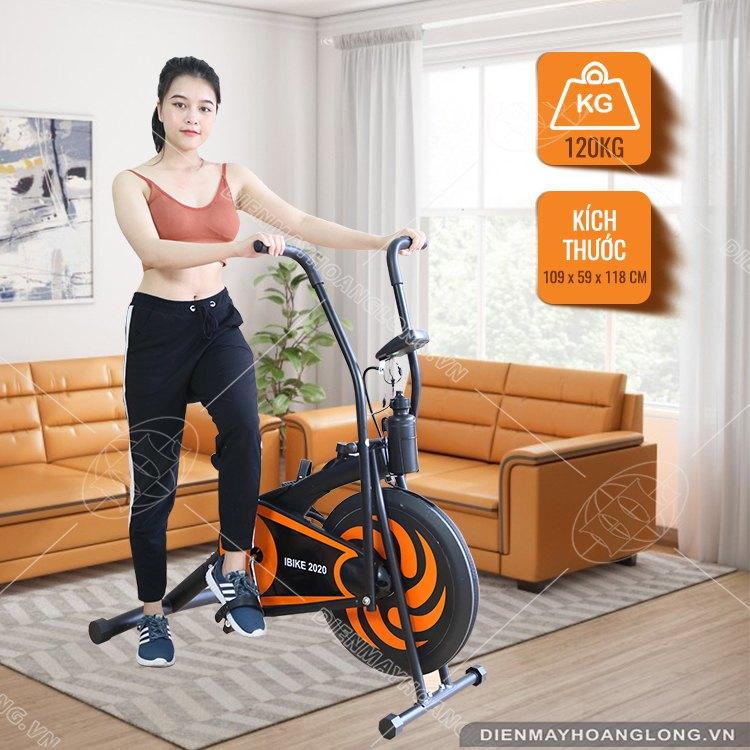 Trọng lượng chịu tải Xe đạp tập thể dục iBike 2020