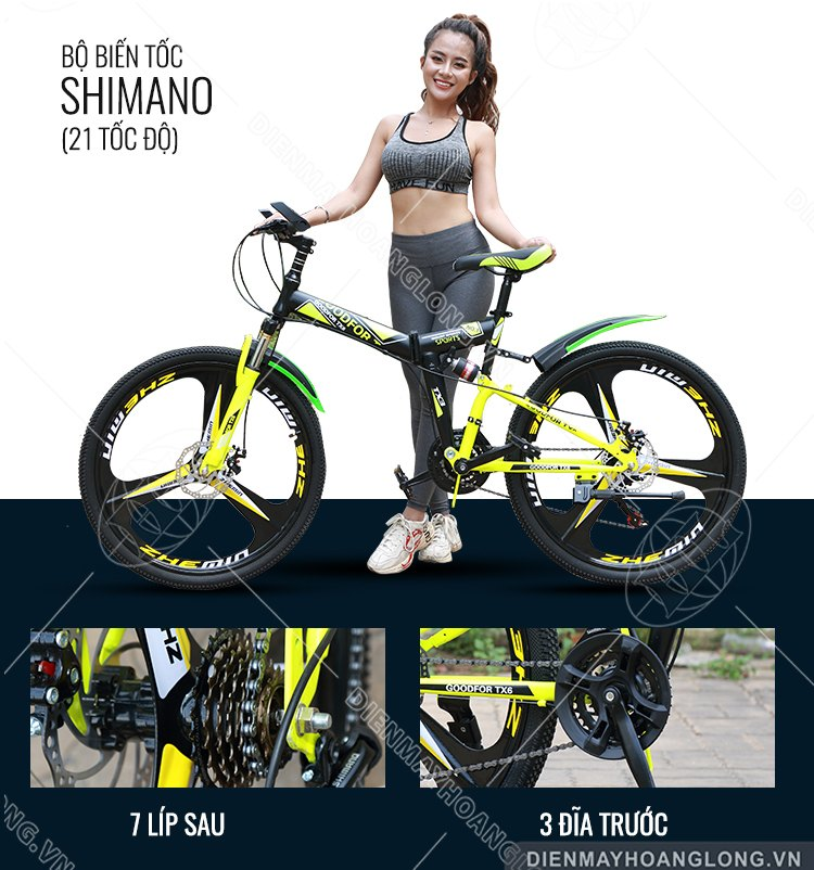 Tốc độ Xe đạp thể thao GoodFor TX3