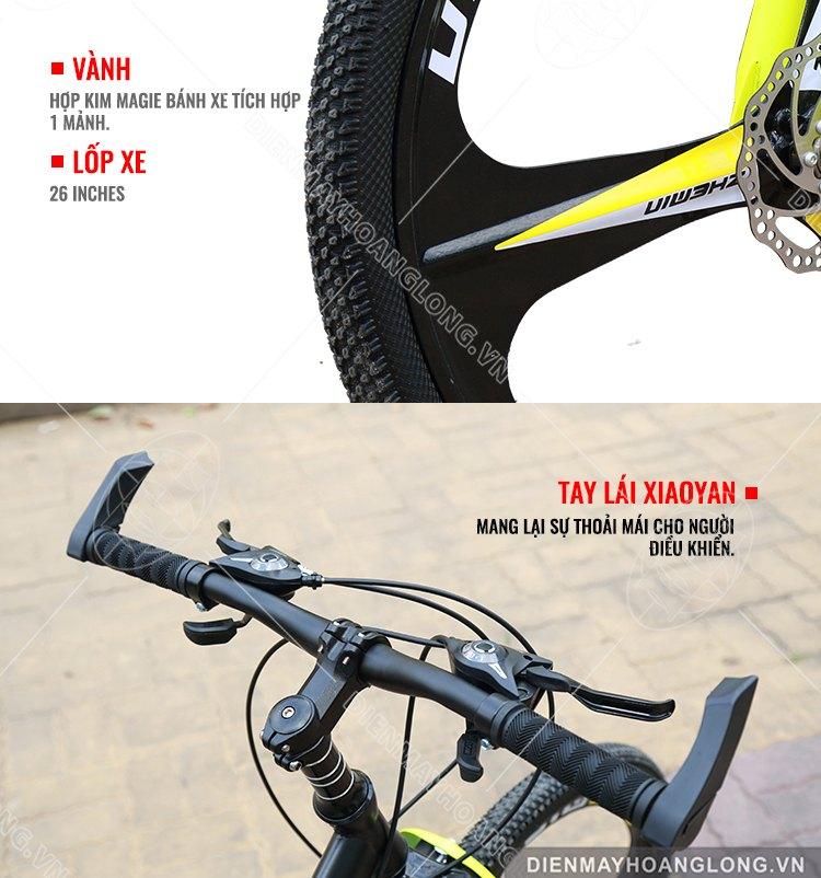 Vành, lốp xe Xe đạp thể thao GoodFor TX3