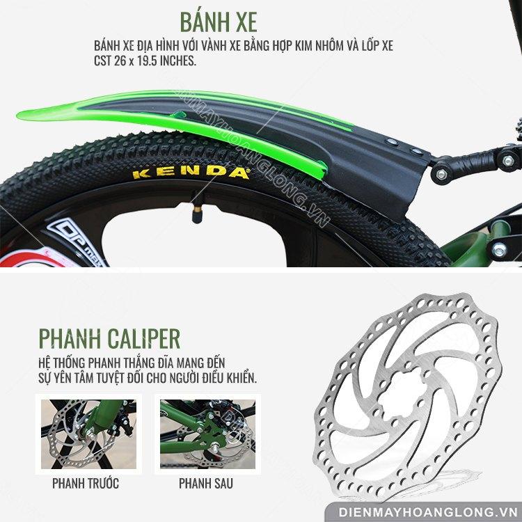 bánh xe Xe đạp thể thao GoodFor TX6
