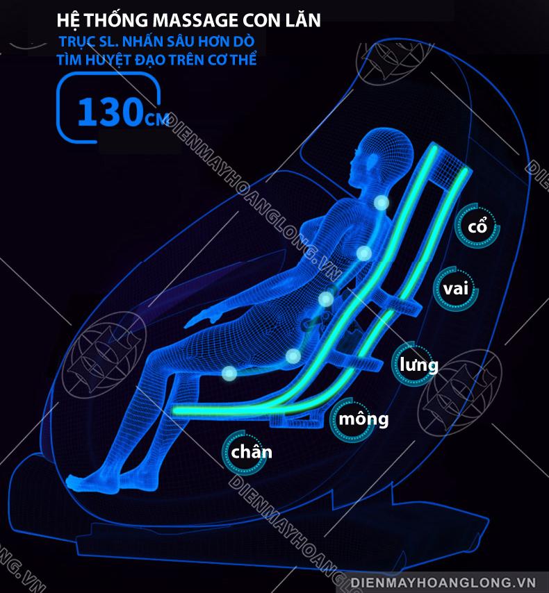 Ghế massage toàn thân Goodfor K7-6