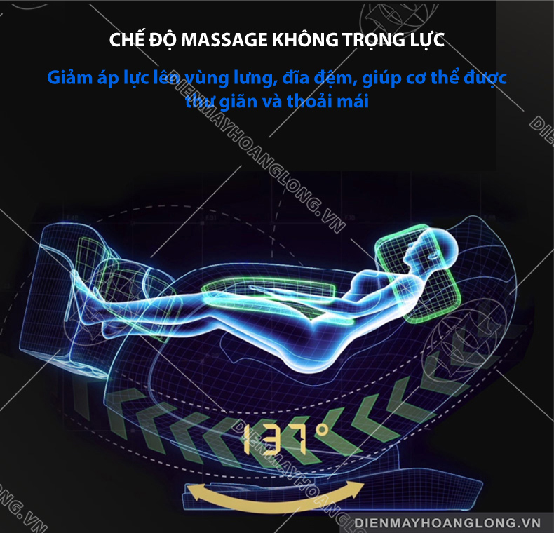 Ghế massage toàn thân Goodfor K7-7