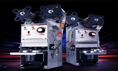 Máy dán cốc tự động WY-680