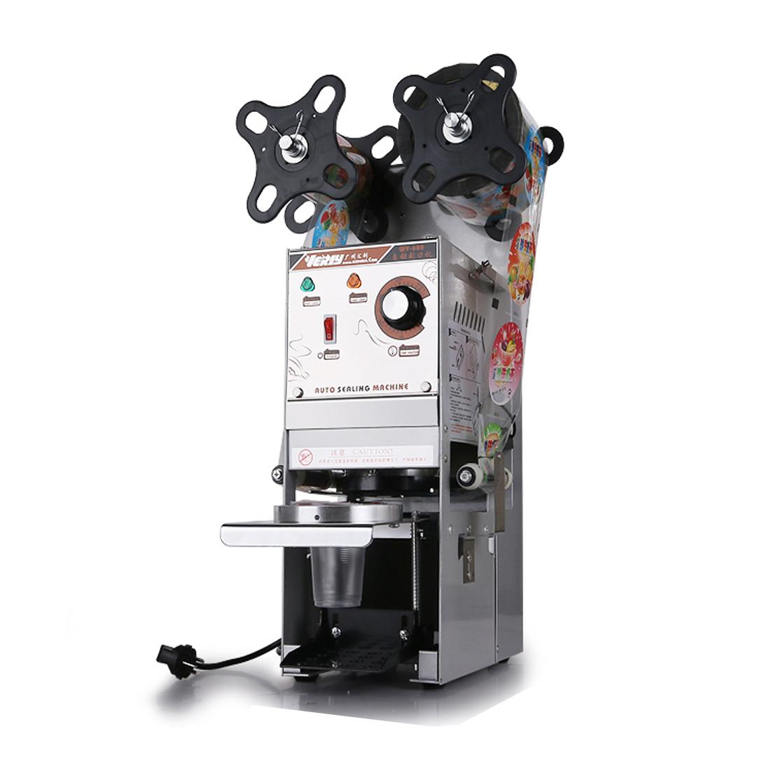 Máy dán cốc tự động WY-680 tốt